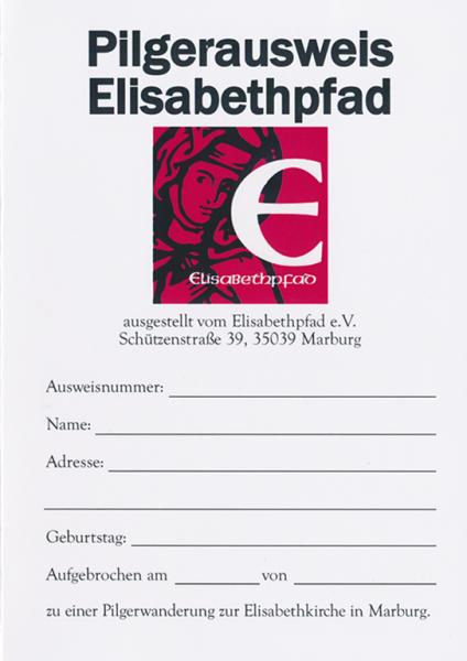 Pilgerausweis Elisabethpfad