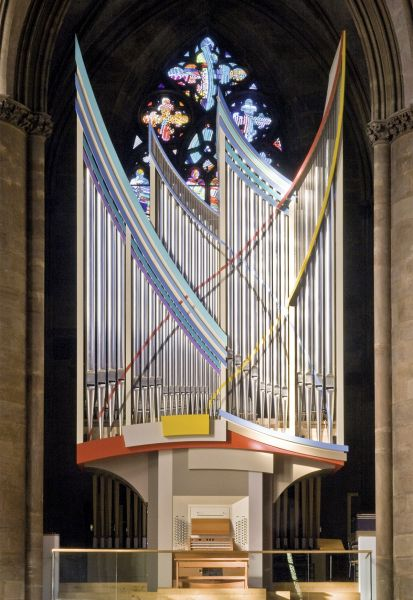 Postkarte: Klais Orgel